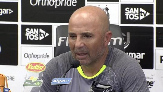 Sampaoli diz que não sabia da crise financeira do Santos ao ser contratado