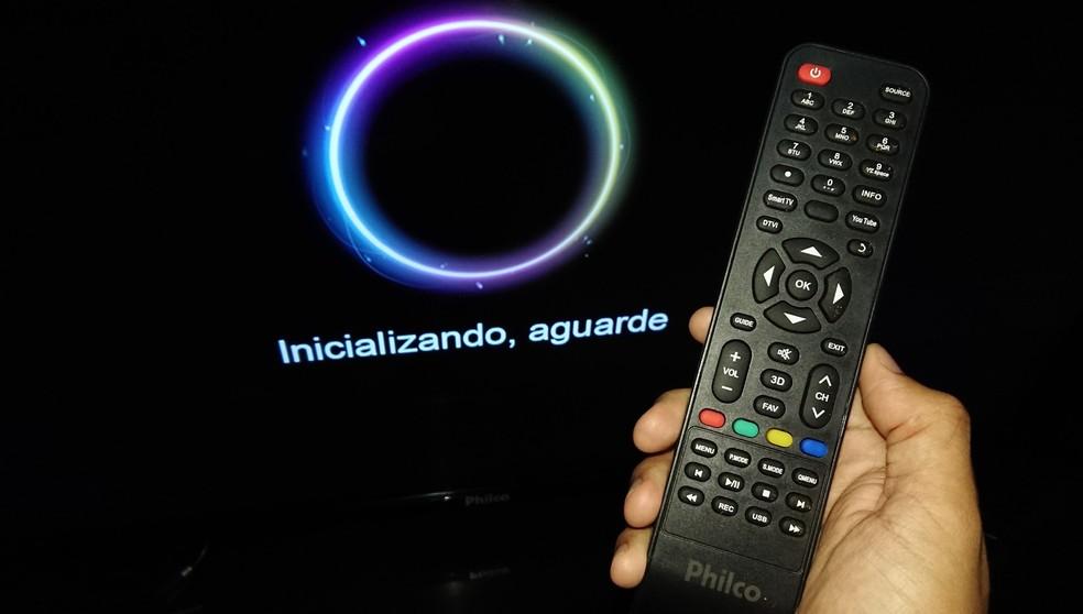 63695e9f81b ... Como atualizar o software de uma smart TV da Philco — Foto  Fernando  Telles