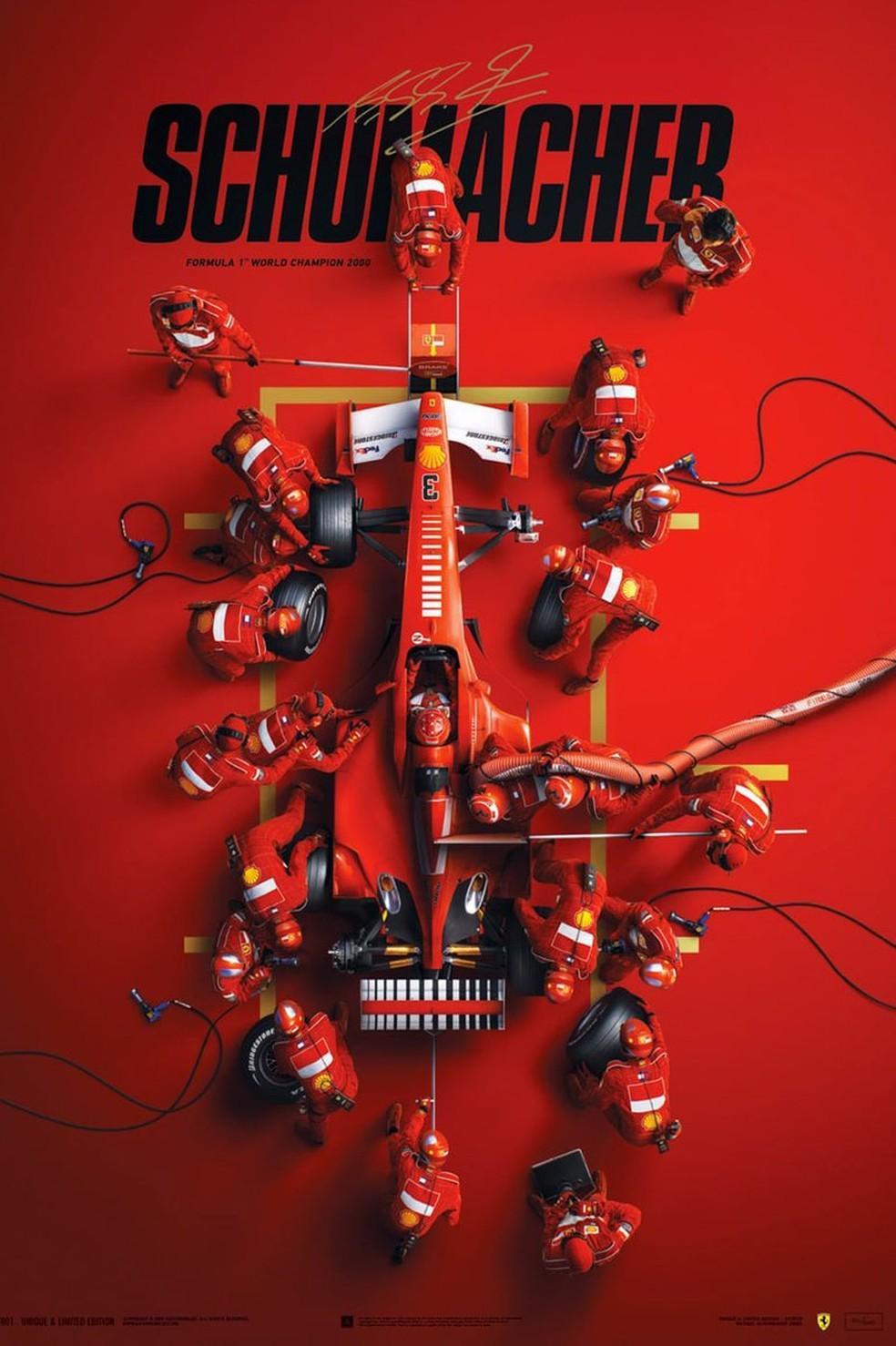 Documentário sobre a vida de Michael Schumacher estreia em setembro na Netflix   Entretenimento   autoesporte