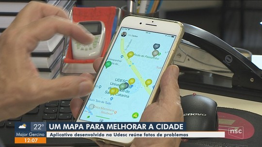 Aplicativo cria mapa colaborativo de problemas urbanos de Florianópolis