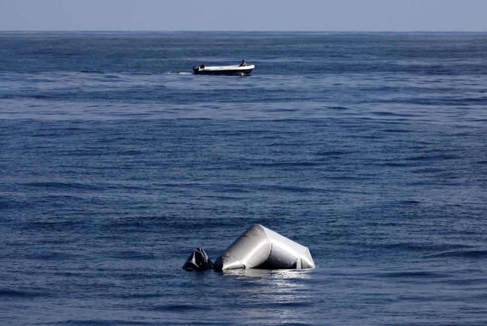 Cerca de 520 migrantes morreram tentando fazer a travessia neste ano (Foto: Yannis Behrakis/Reuters)