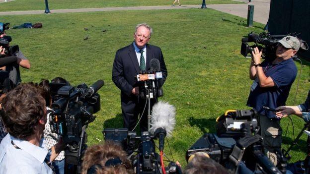 O vice-presidente da Monsanto, Scott Partridge, disse a jornalistas que a empresa iria recorrer (Foto: AFP/BBC News)