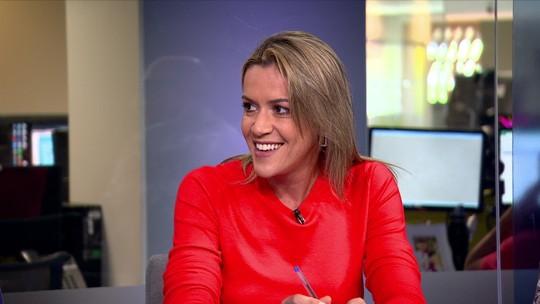 Redação SporTV apresenta Gabriela Moreira, nova contratada do Grupo Globo