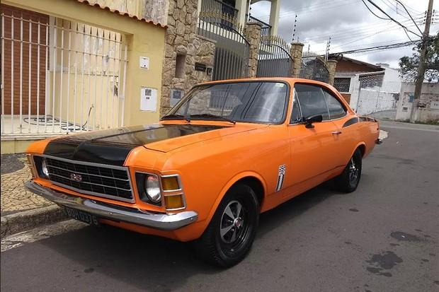 Chevrolet Opala 1976 (Foto: Reprodução Mercado Livre)