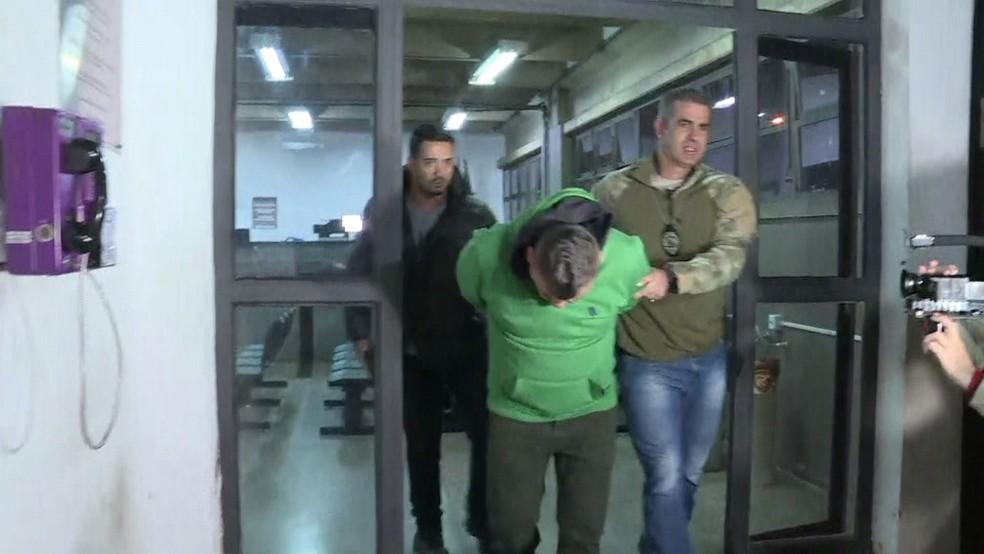 Suspeito de envolvimento em morte de PM desaparecida em Paraisópolis é preso em SP (Foto: Reprodução TV Globo)