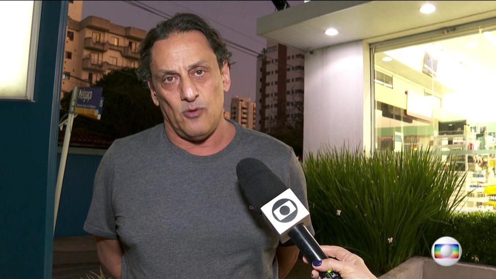 Wassef, dono do imóvel em que foi preso Queiroz, nega tê-lo escondido — Foto: JN