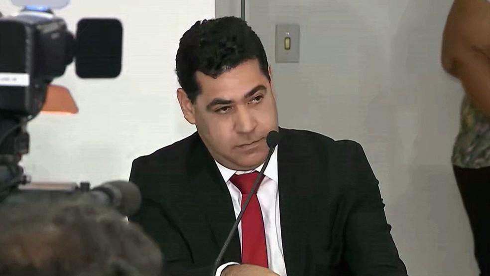 Gilberto Carneiro, ex-procurador do estado da Paraíba, foi alvo de duas denúncias do Ministério Público da Paraíba — Foto: Reprodução/TV Cabo Branco