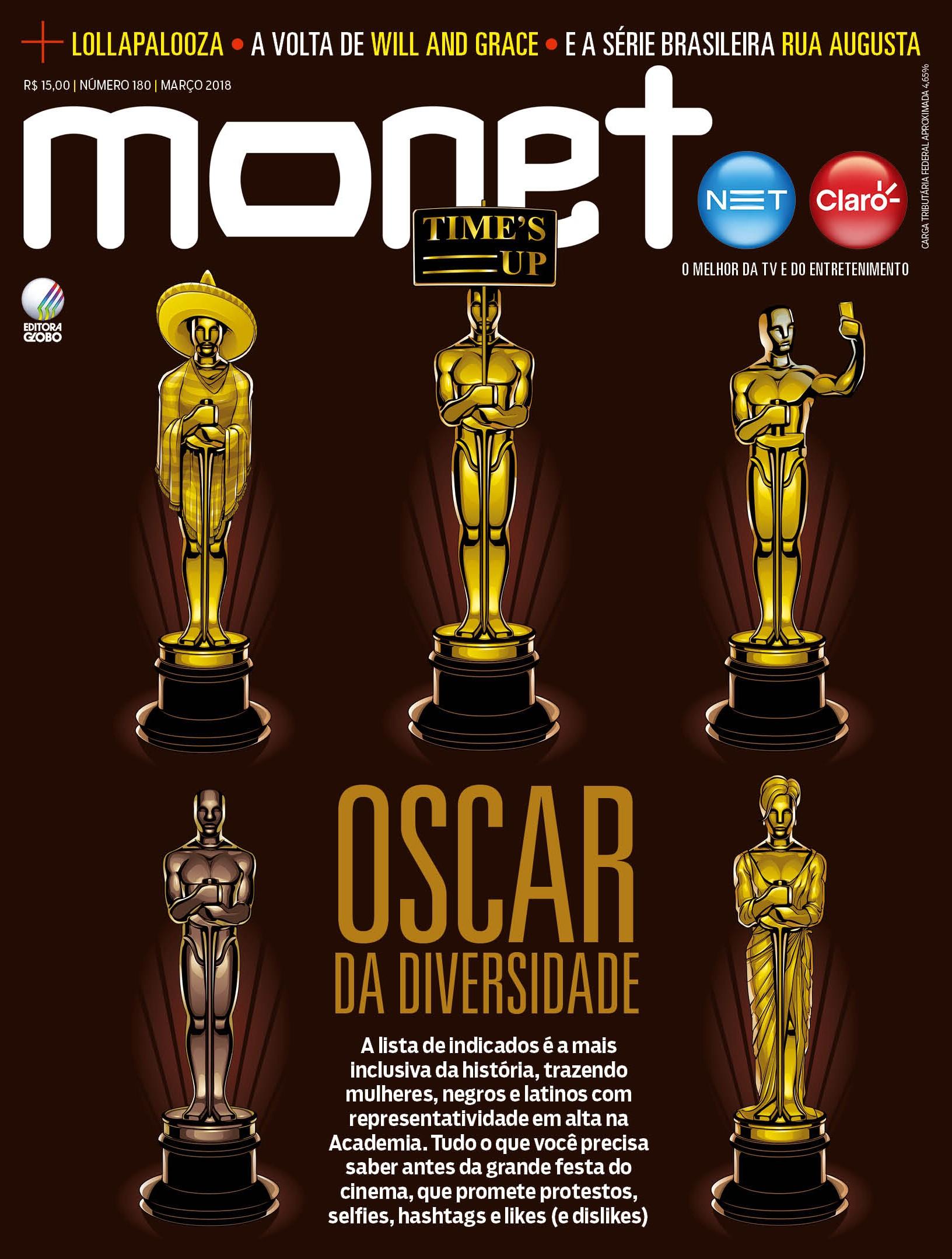 Revista Monet - Edição 180 - Março/2018 (Foto: Revista Monet (Ilustração: Cristiano Siqueira))