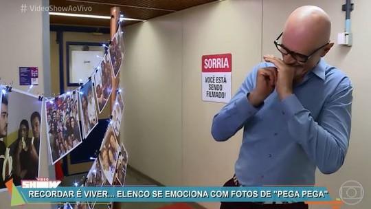 Elenco de 'Pega Pega' ganha homenagem no 'Vídeo Show'