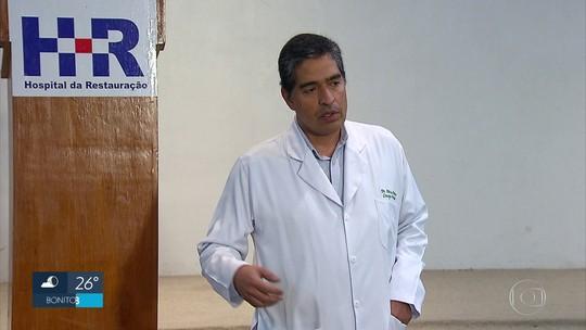 Recuperação de banhista atacado por tubarão no Grande Recife surpreende médicos
