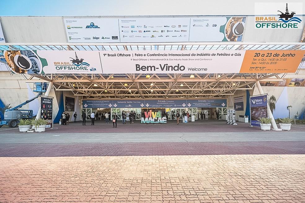 Feira Brasil Offshore termina nesta sexta-feira (23) em Macaé (Foto: Divulgação/Feira Brasil Offshore)