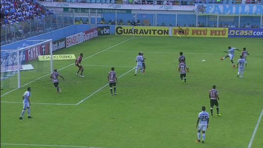 Paysandu faz blitz em busca do terceiro gols aos 45 do 1º tempo
