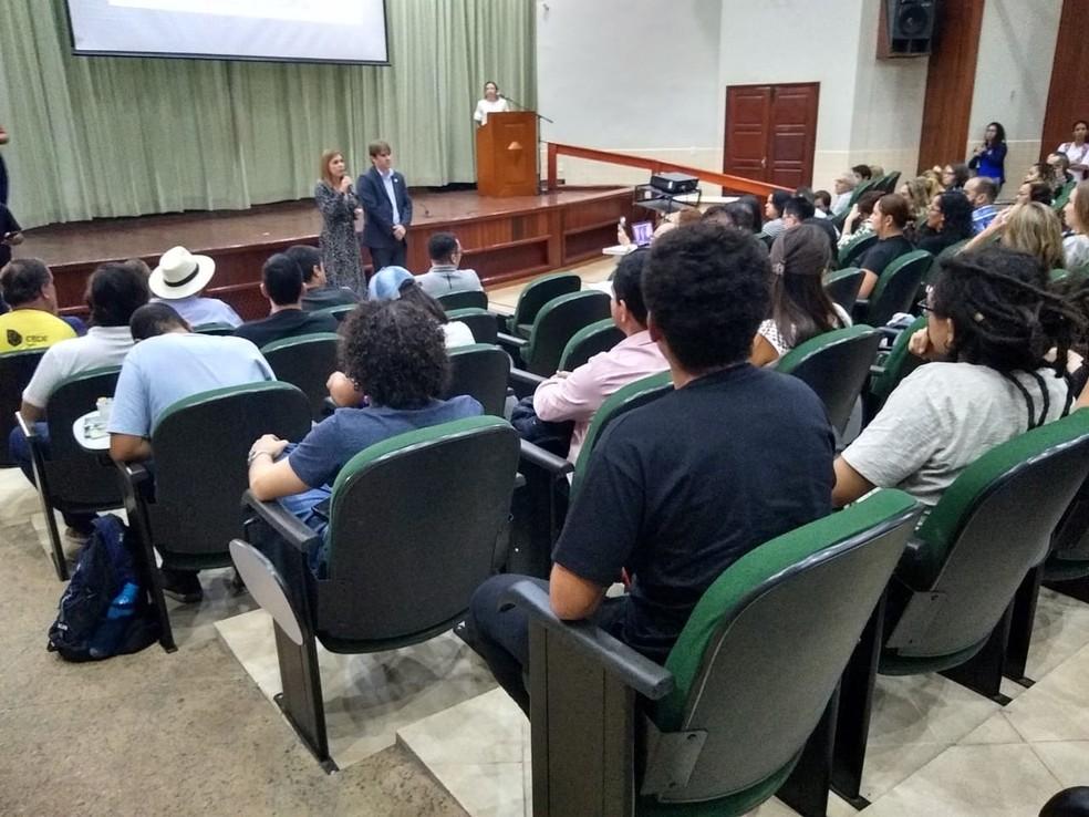 Com corte do MEC, Ufac deve perder R$ 15 milhões e ter 2º semestre comprometido — Foto: Quésia Melo/Arquivo pessoal
