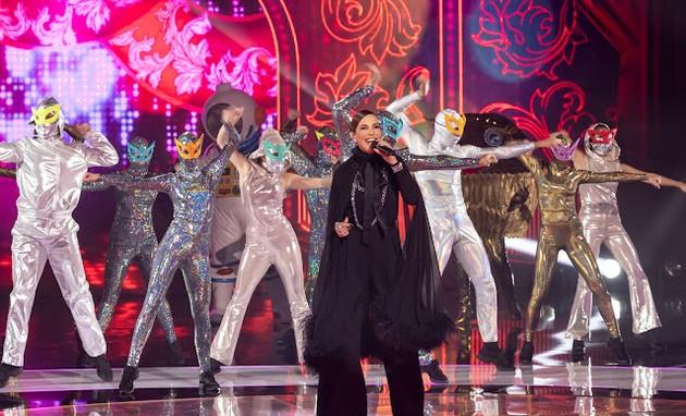 Ivete Sangalo no 'The masked singer Brasil' (Foto: Globo/Kelly Fuzaro)
