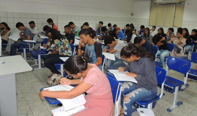 Estudantes fizeram prova do Sistema Seriado de Avaliação da Universidade de Pernambuco nos dias 17 e 18 de novembro de 2019 — Foto: Universidade de Pernambuco/Divulgação