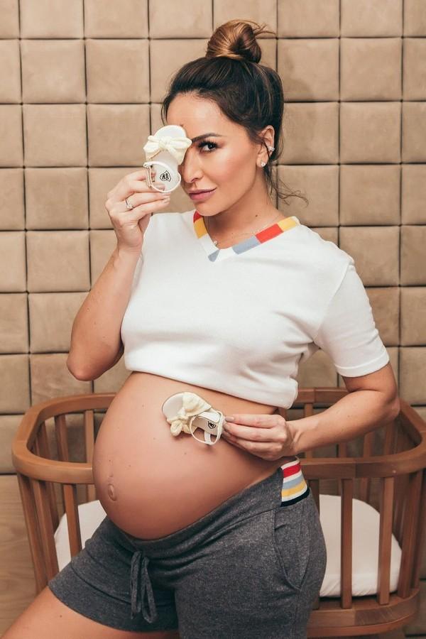 Sabrina Sato está prestes a dar à luz (Foto: Reprodução)