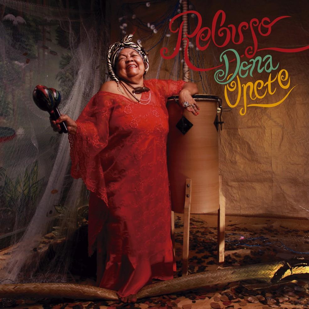 Capa do álbum 'Rebujo', de Dona Onete — Foto: Walda Marques