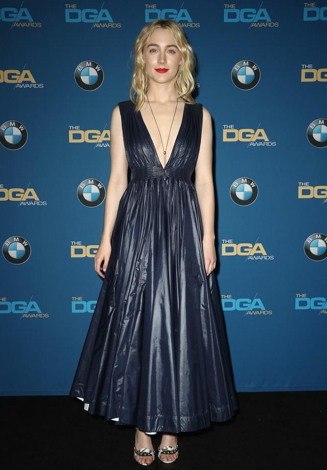 Saoirse de Calvin Klein no Directors Guild Of America Awards 2018 (Foto: Getty Images)