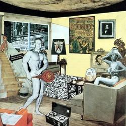 Colagem pop dos anos de 1950
