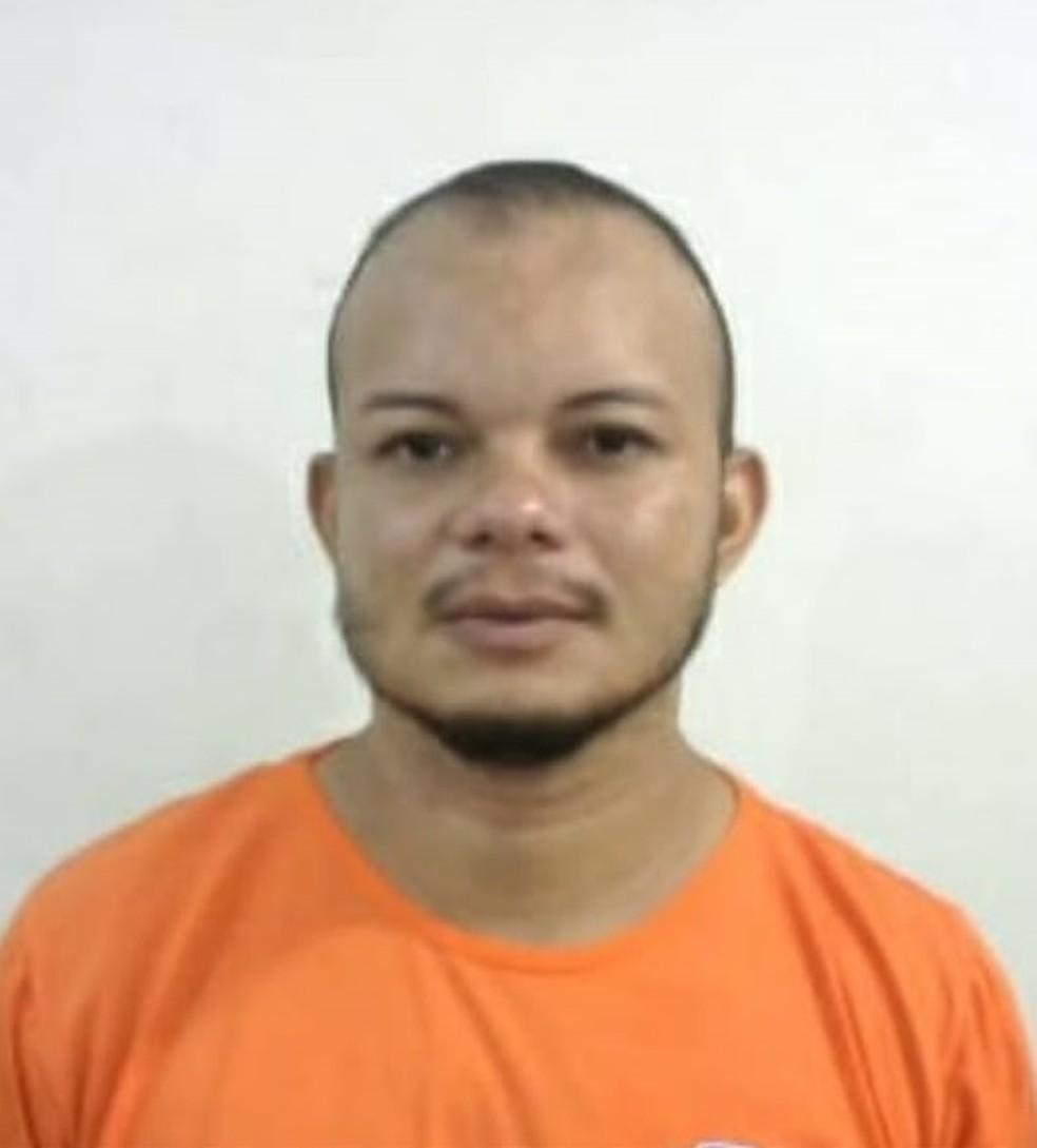 Wilken de Jesus Silva Moraes foi conduzido para a Penitenciária de Pedrinhas em São Luís — Foto: Divulgação/Polícia