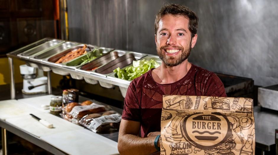 Frederico Santos, o Fred, da The Burger: história de resiliência (Foto: Divulgação)