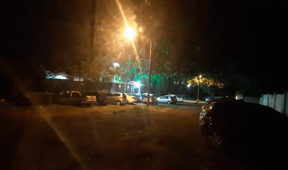 Quantidade de veículos chamou atenção da equipe de fiscalização de Marília — Foto: Prefeitura de Marília/Divulgação