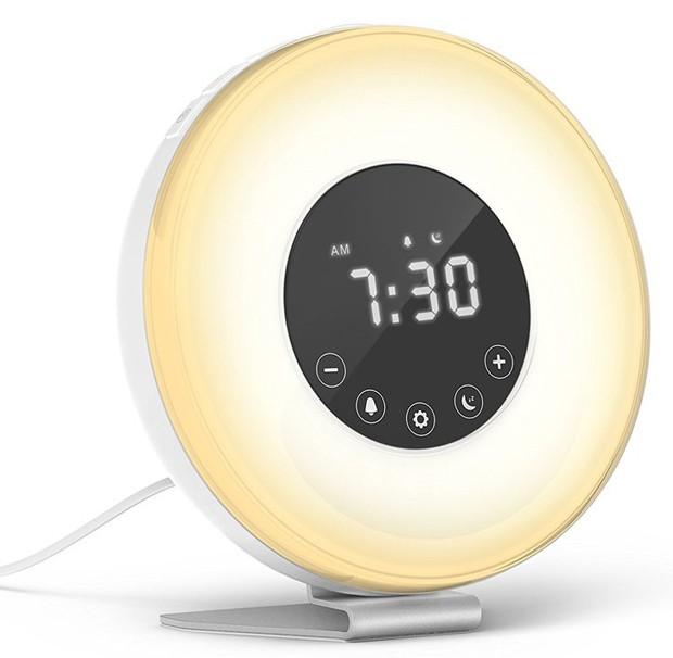 despertador-alarme-relógio-sunrise-nascer-do-sol (Foto: Reprodução)