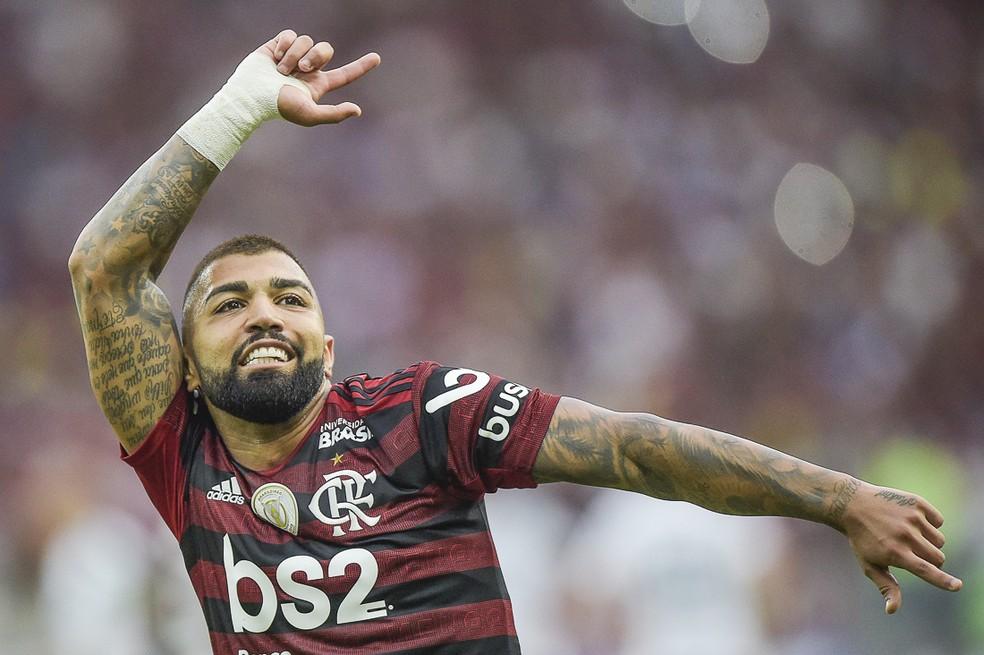 Gabigol pode se tornar artilheiro do Brasileirão pelo segundo ano seguido — Foto: Alexandre Loureiro/BP Filmes