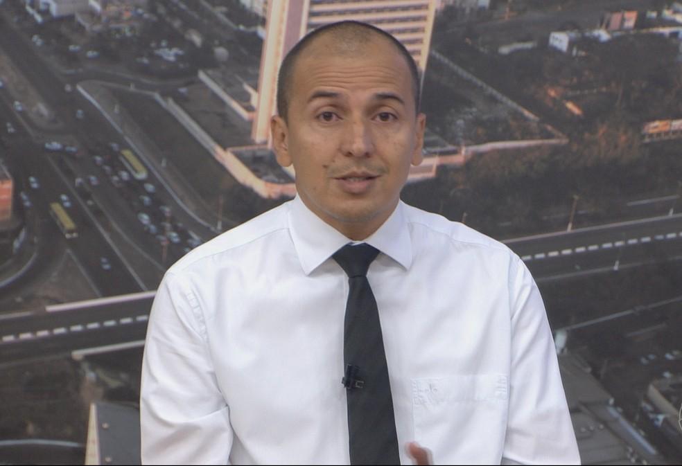 Procurador Mauro, candidato ao Senado — Foto: TVCA/Reprodução