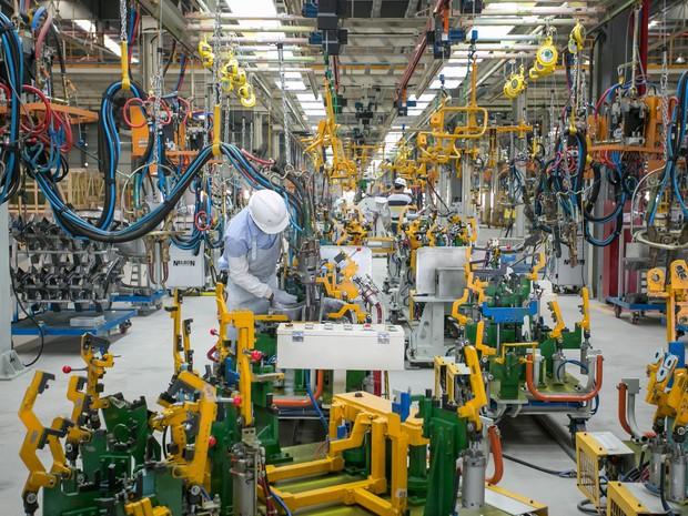 Fábrica da Chery de Jacareí foi inaugurada em agosto de 2014. (Foto: Divulgação / Chery)