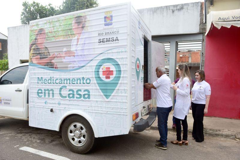 Programa que prevê entrega de medicamentos em casa atende pelo menos 200 pacientes em Rio Branco - Notícias - Plantão Diário