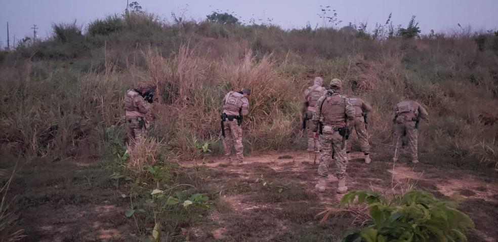 Operação Terra prometida cumpre mandados em Rondônia — Foto: PF/Divulgação