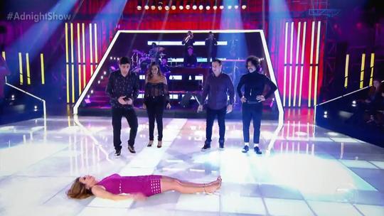 Ana Furtado domina a web com participação no 'Adnight Show'