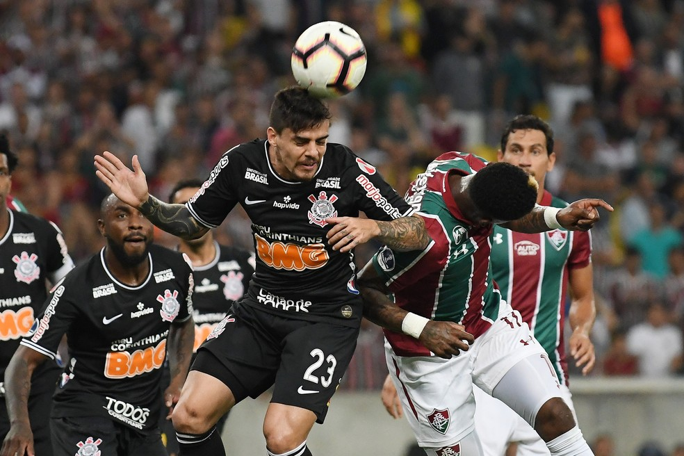 Corinthians empatou por 1 a 1 com o Fluminense no Maracanã — Foto: Alexandre Durão/GloboEsporte.com
