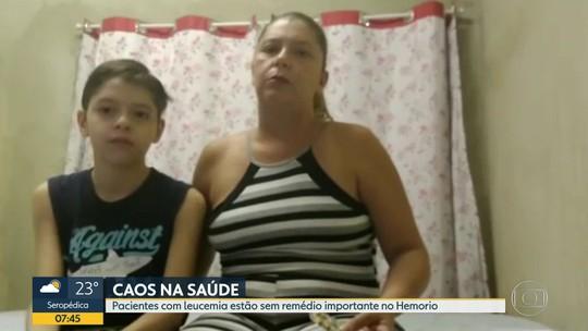 Pacientes com leucemia sofrem com a falta de medicamentos no Hemorio
