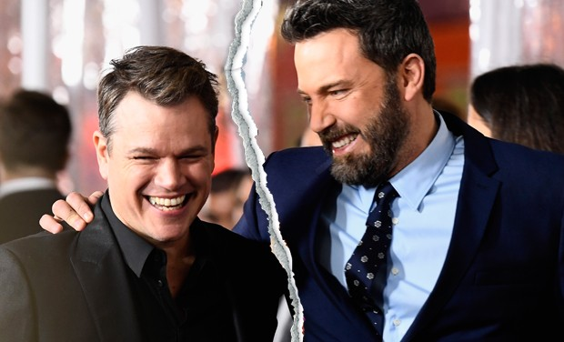 Matt Damon e Ben Affleck (Foto: Getty Images)