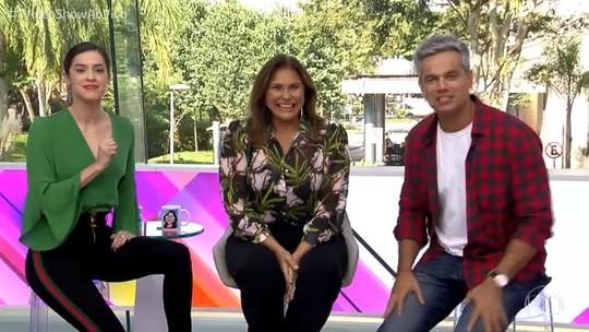 Fafá de Belém conta às gargalhadas no 'Vídeo Show': 'Meu coração é brega'