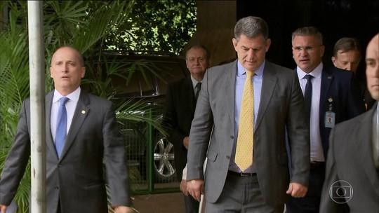 Onyx se reuniu com Bolsonaro no Alvorada em meio à crise com Bebianno