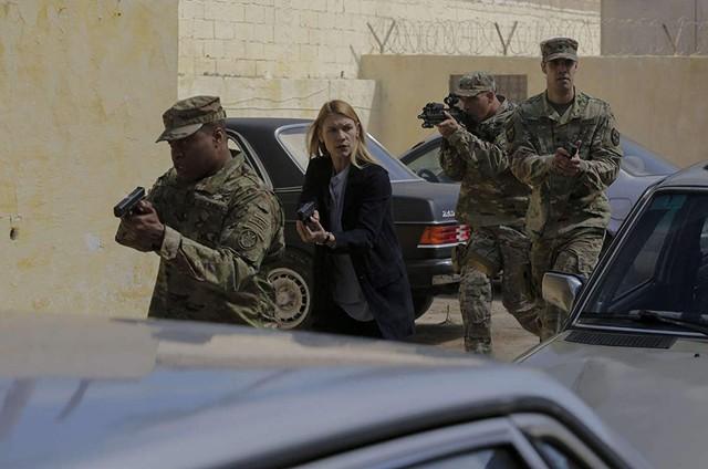 Cena do quinto episódio da oitava temporada de 'Homeland' (Foto: Divulgação)