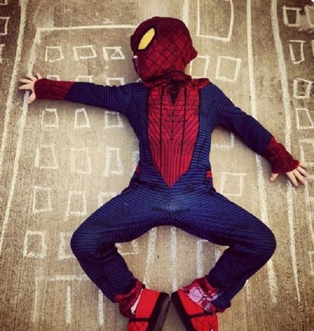 Fantasia Homem Aranha (Foto: Pinterest)