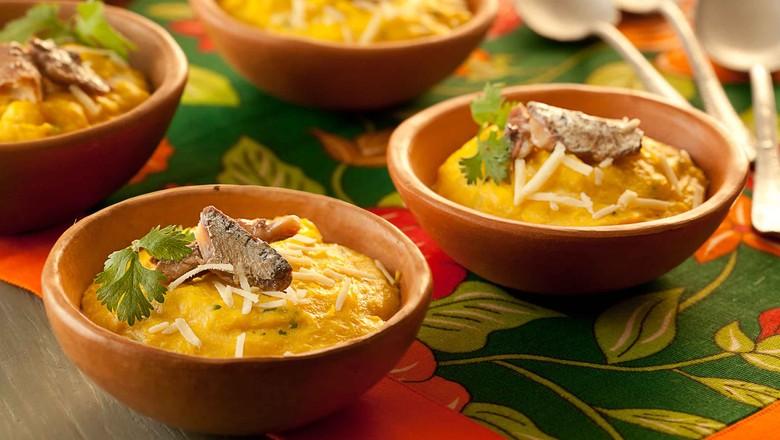 creme-milho-sardinha-receita (Foto: Divulgação)