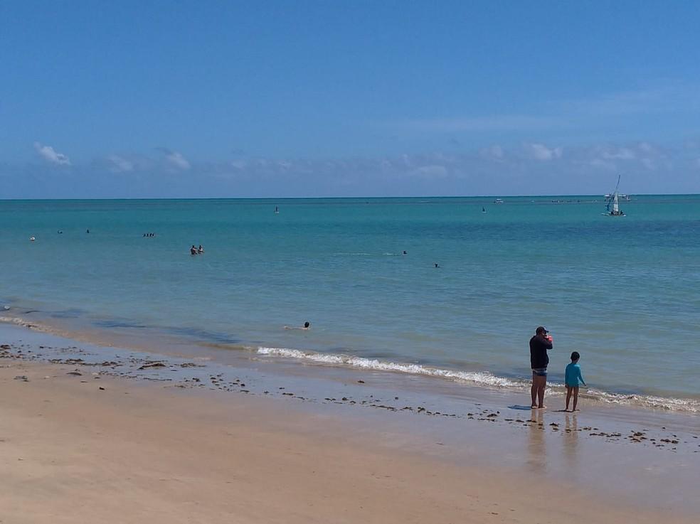 Praia do Bessa em João Pessoa  — Foto: Krys Carneiro/G1