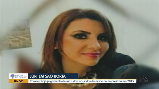 Mais dois réus são julgados por assassinato de mulher em São Borja