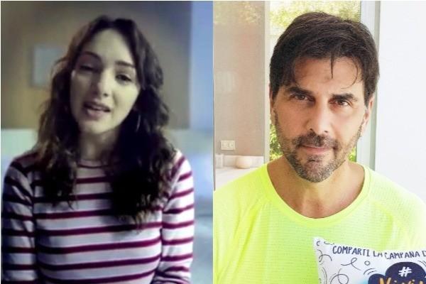 Thelma Fardin e Juan Darthés (Foto: Instagram / Twitter)