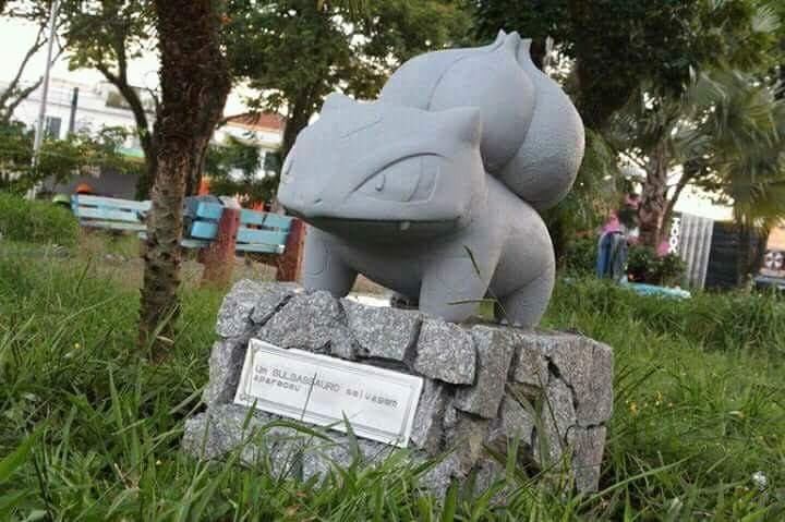 O Bulbassauro foi o primeiro pokémon a dar as caras  (Foto: Reprodução/Twitter)
