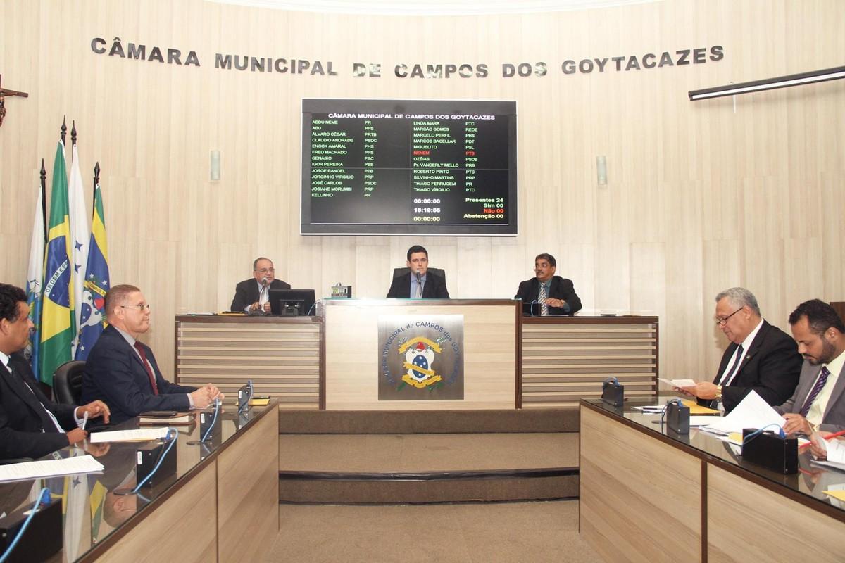 Câmara de Campos, RJ, aprova mudança em índice que calcula IPTU