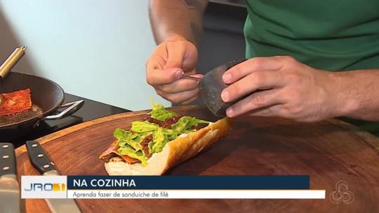 Aprenda a fazer sanduíche de filé