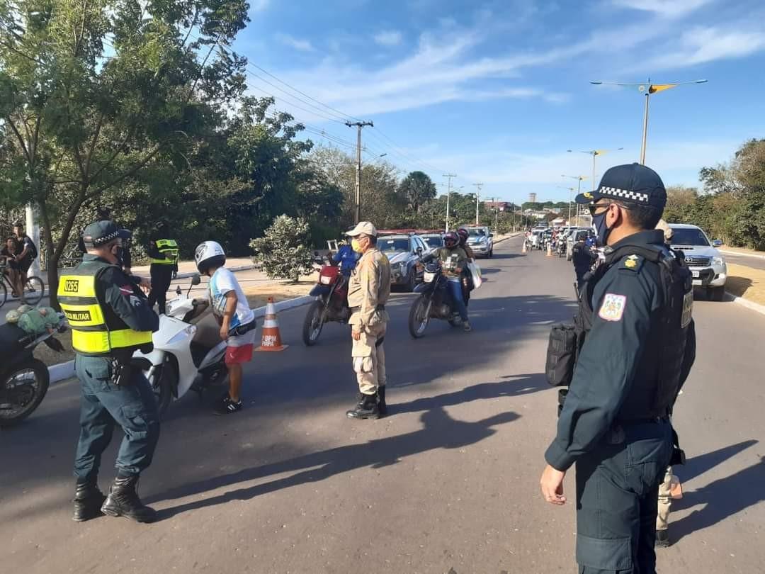 Durante operação 'Barreira', Polícia Militar apreende arma de fabricação caseira em Santarém