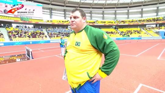 Darlan Romani supera arremesso do Pan e conquista o ouro nos Jogos Mundiais Militares