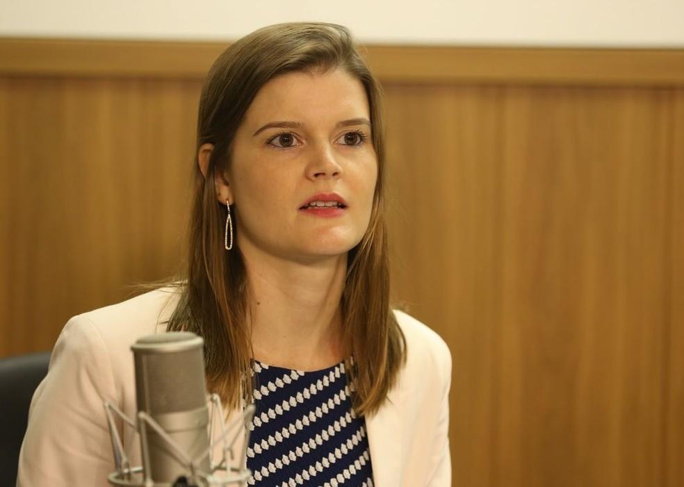 Martha Seillier, responsável pelo Programa de Parcerias de Investimentos (PPI) — Foto: Valter Campanato/Agência Brasil